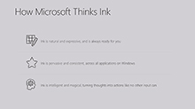 Ink the way you think, with your digital pen and Microsoft Office apps