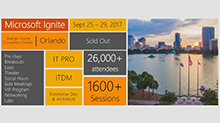 Navigate your way around Microsoft Ignite (Repeat)
