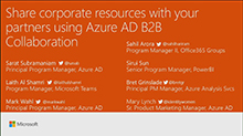 Share corporate resources with your partners using Azure Active Directory B2B collaboration