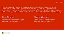Productivity and protection for your employees, partners, and customers with Azure Active Directory