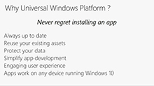 The core value of Windows 10 apps in the enterprise