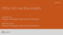 Insights into your Office 365 Mail Flow