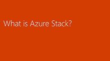 Azure App Service on Microsoft Azure Stack, developer Ninjitsu: Above and below the clouds!