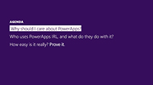 Deliver sophisticated apps in days: Learn how PowerApps can transform your business