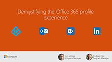 Demystifying the Office 365 profile experience