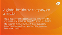 GlaxoSmithKline's (GSK) Yammer network is helping people do more, feel better, live longer!