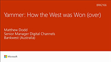 Yammer: How the West was won (over)