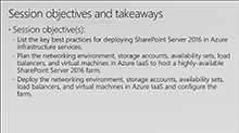 Designing and deploying a high-availability, cross-premises SharePoint 2016 farm in Azure