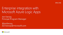 Enterprise integration with Microsoft Azure Logic Apps