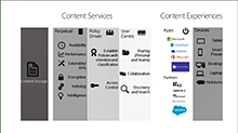 Harness collective knowledge with SharePoint and OneDrive content services (ECM)
