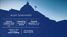 Bring cloud innovation to your mission/services with Azure Government