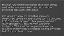 Future of Software Development in the Cloud with Azure Platform