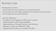 Lessons from a successful SAP on Azure migration