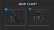 Extend Microsoft Dynamics 365 to create custom solutions unique to your business