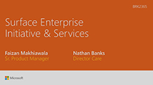 Service and Support for Microsoft Surface – Built for the Demands of Today's Enterprise