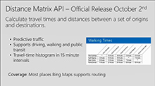 Adding location intelligence to your apps with Bing Maps Enterprise