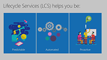 Customer lifecycle with LCS: Microsoft Dynamics 365 for Finance and Operations, Enterprise edition