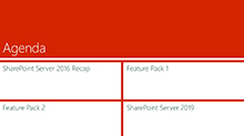 Discover SharePoint Server 2016 Feature Pack 2 and Beyond