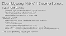Moving to a hybrid Unified Communications environment