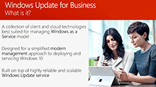 Learn how to service Windows 10 using Windows Update for Business