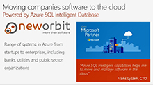 Azure SQL Database: The world's first intelligent cloud database service