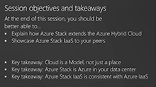 IaaS on Microsoft Azure Stack