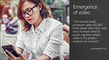 Leverage intelligent video to power a collaborative organization with Microsoft Stream