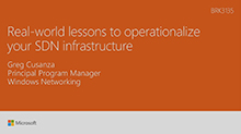 Real-world lessons to operationalize your SDN infrastructure