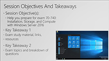 Cert Exam Prep: Exam 70-740: Installation, Storage, and Compute with Windows Server 2016