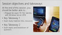 Cert Exam Prep: Exam 70-742: Identity with Windows Server 2016