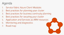 Managing, securing, and scaling Azure Service Fabric clusters and applications