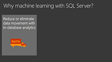 Performance patterns for machine learning services in SQL Server