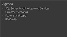 How to build machine learning applications using R and Python in SQL Server 2017