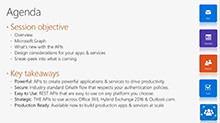 Build intelligent line-of-business apps leveraging Outlook/Exchange data, using Microsoft Graph