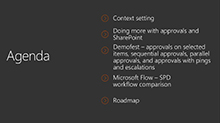 Deep dive: Compare SharePoint Designer and Microsoft Flow scenarios