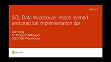 Azure SQL Data Warehouse lessons learned and practical implementation tips