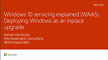 Windows 10 servicing explained (WAAS): Deploying Windows as an inplace upgrade
