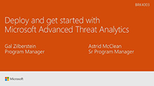 Deploy and get started with Microsoft Advanced Threat Analytics