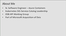 Advanced application patterns with Azure Container Service