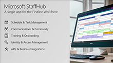 Business integrations in Microsoft StaffHub