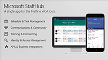 Firstline workforce and Office 365: Microsoft StaffHub