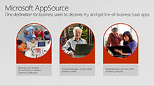 Find, try and get line-of-business apps on Microsoft AppSource