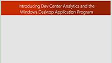 Dev Center analytics for Win32 developers (repeat)