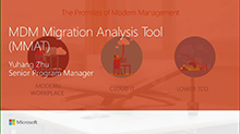 Use MDM Migration Analysis Tool to accelerate move from group policy to MDM (repeat)