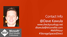 Dave Kawula's notes from the field on Storage Spaces Direct